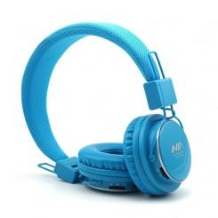 هدست بلوتوثی ,شارژی - به رنگ آبی Q8 / NIA