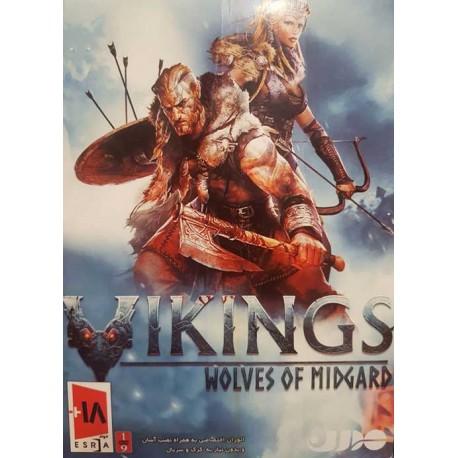 بازی کامپیوتر Vikings wolves of midgard |قیمت پشت جلد 12000 تومان