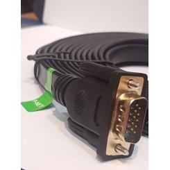 کابل 3 متری فلت P_net VGA