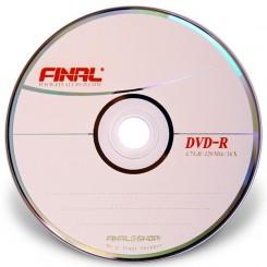 پک 50 عددی دی وی دی خام فینال | DVD Final