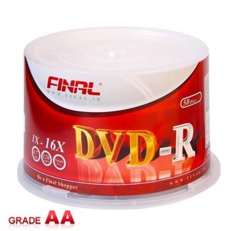 پک 50 عددی سی دی خام دکتر دیتا | CD Dr.Data
