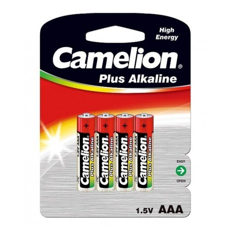 باتری نیم قلمی کارتی 4 عددی Camelion