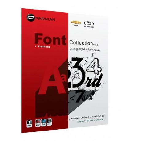 مجموعه ای کامل از انواع قلم Fonts Collection