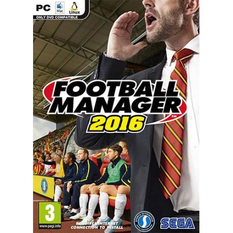 بازی کامپیوتر Football Manager 2016