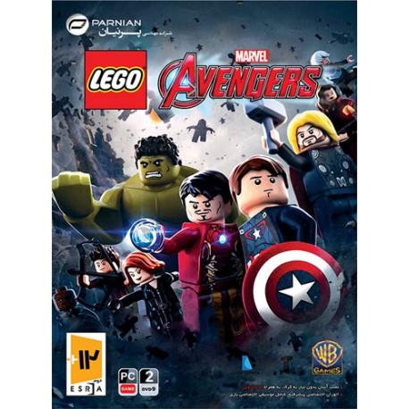 بازی LEGO Marvel's Avengers | قیمت پشت جلد15500تومان