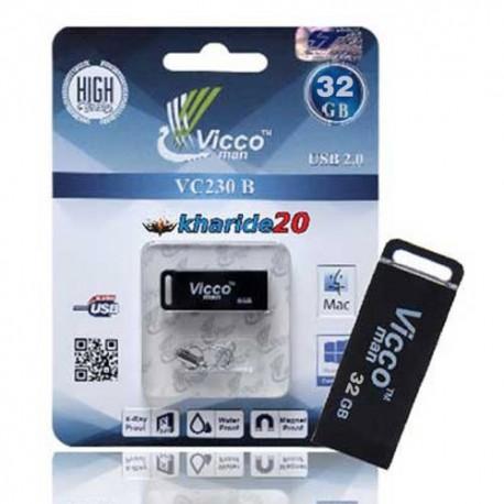 فلش مموری VICCO 230 BLACK 16GB