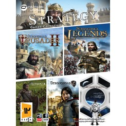 STRATEGY GAMES COLLECTION پرنیان 1DVD9 قیمت پشت جلد 24000 تومان