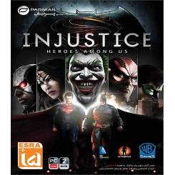 بازی Injustice: Heroes Among Us |قیمت پشت جلد 18000 تومان