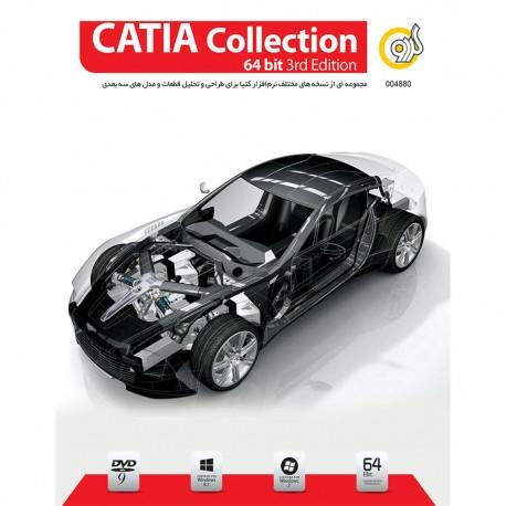 CATIA Collection 64 Bit 3rd Edition قیمت پشت جلد 130000 ریال 1DVD9 گردو