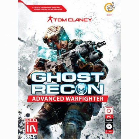 گردو TOM CLANCY GHOST RECON ADVANCED WARFIGHTER 1DVD