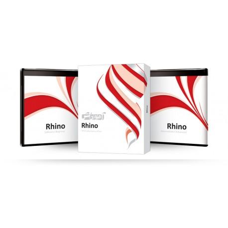 آموزش Rhino شرکت پرند قیمت پشت جلد 480000ریال