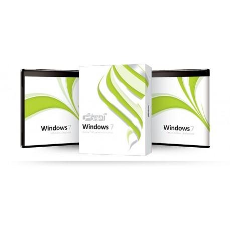 آموزش Windows 7 شرکت پرند قیمت پشت جلد 220000ریال