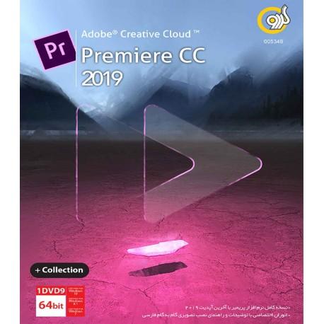 نرم افزار Adobe Premiere CC 2019 + Collection
