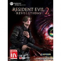 بازی RESIDENT EVIL REVELATIONS 2 پرنیان قیمت پشت جلد 155000 ریال