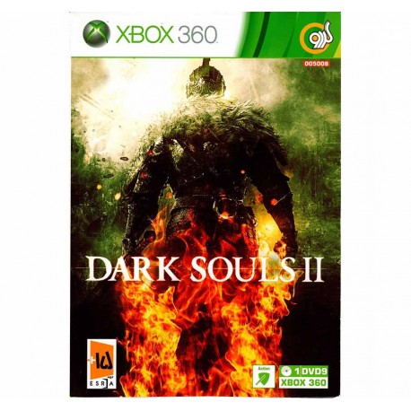DARK SOULS II XBOX 360 1DVD9 قیمت پشت جلد 170000 ریال گردو