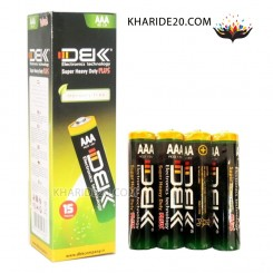 باتری نیم قلمی DBK شرینگ 4 تایی