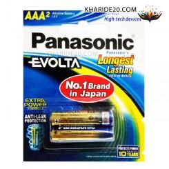 باتری نیم قلمی 2 تایی Alkaline Evolta PANASONIC