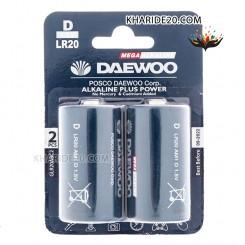 باتري D دوو مدل Alkaline plus Power بسته 2 عددي