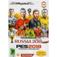 بازی فوتبال ps2 PES2018 RUSSIA2018