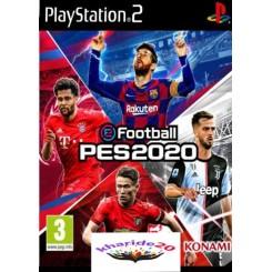 بازی فوتبال PES 2020 مدل سازی شده مخصوص کنسول PLAYSTATION2
