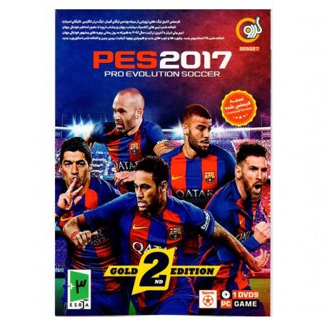 بازی فوتبال کامپیوتر PES2017