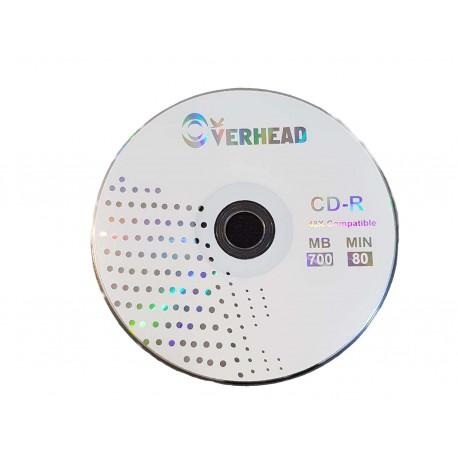 پک 50 تایی سی دی اورهد| CD Overhead