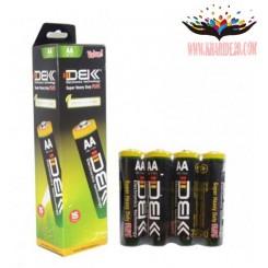 باطری قلمی 4 تایی فله شیرینگ - DBK - AA