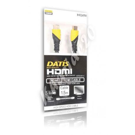 کابل یک ونیم متری HDMI کنفی DATIS پکدار