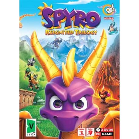 بازی کامپیوتری اسپایرو Spyro Reignited Trilogy