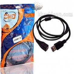 کابل افزایش طول 1.5 متری USB OMD