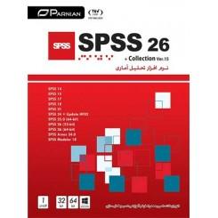نرم افزار تحلیل امار SPSS 26 & Collection (Ver.15) |تعداد حلقه 1DVD9 |قیمت پشت جلد 245000ریال