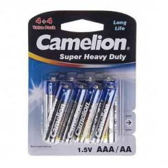 باتری کاملیون 4+4 Super heavy duty CAMELION