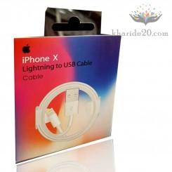کابل شارژ آیفون پک دار iPhone X