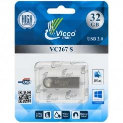 فلش مموری VICCO SILVER 267S 32GB
