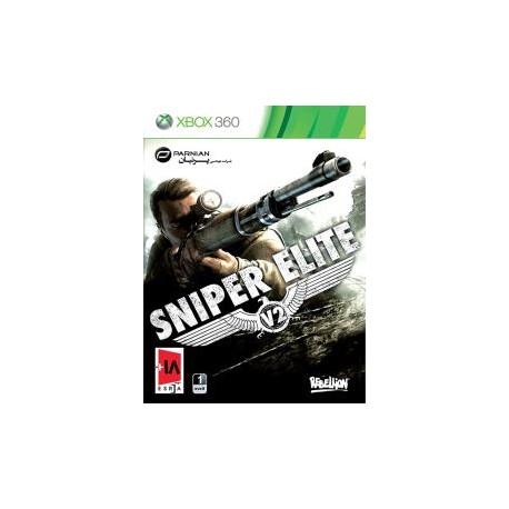 بازی sniper ellite xbox 360 | قیمت پشت جلد 180000 ریال
