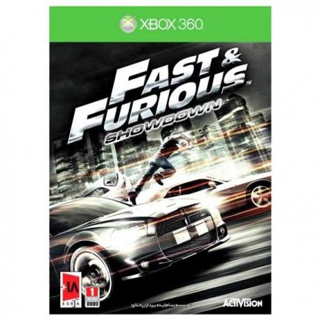 بازی xbox 360 fast &furious showdown