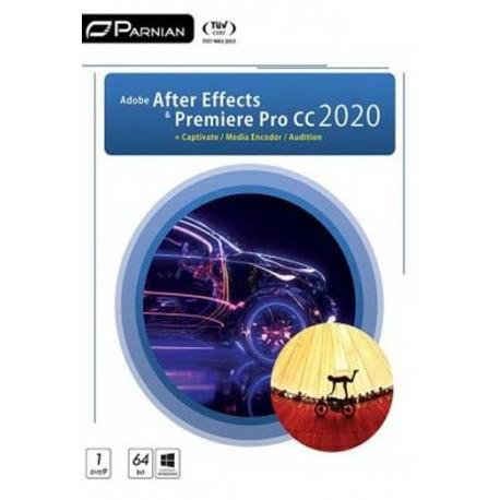 نرم افزار Adobe After Effects & Premiere Pro CC 2018 + Collection |قیمت پشت جلد 15000
