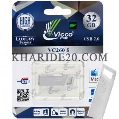 فلش مموری 32GB VICCO MAN VC260S
