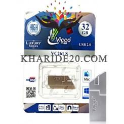 فلش مموری VICCO MAN VC261 SILVER 32GB