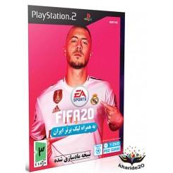 بازی Fifa 20 + لیگ برتر ایران (قیمت پشت جلد 11 هزار تومان ) Playstation2