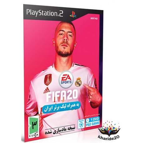 بازی Fifa 20 + لیگ برتر ایران Playstation2