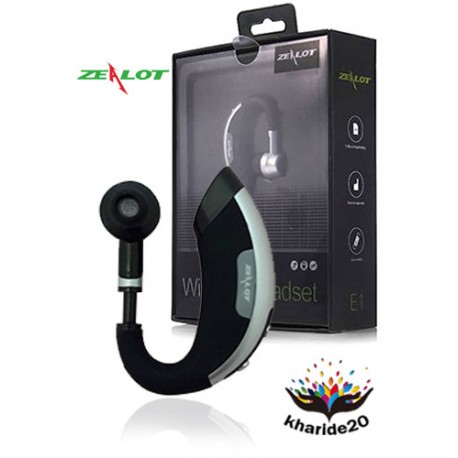 هدست بلوتوث زیلوت مدل Zealot Headset e1