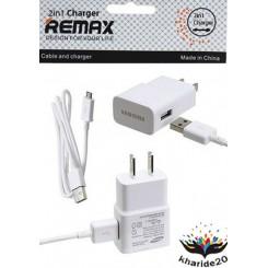 شارژر و کابل اورجینال اندروید REMAX AAA