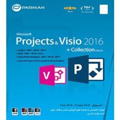 نرم افزار Microsoft Project & Visio 2016 + Collection|قیمت پشت جلد 12500