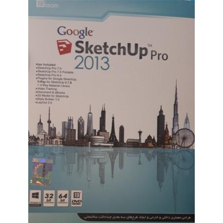 نرم افزار SketchUp pro collection 2017 قیمت پشت جلد : 15000 تومان