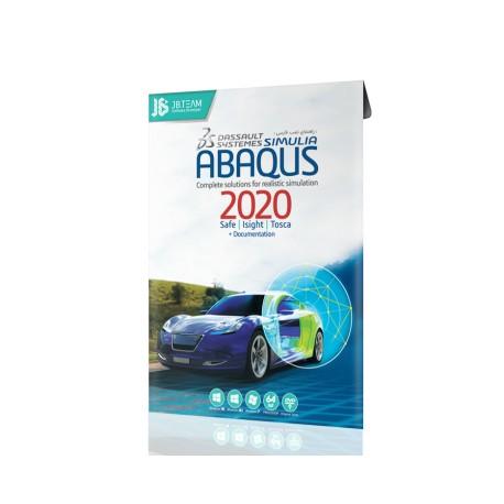 نرم افزار شبیه سازی صنعتی Abaqus 2018 64Bit