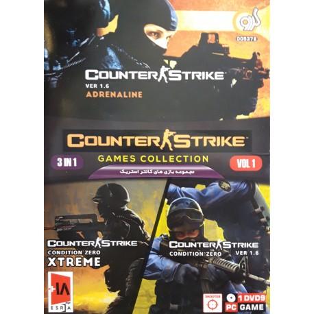 مجموعه بازی های کانتر استریک 3in1 Counter Strike