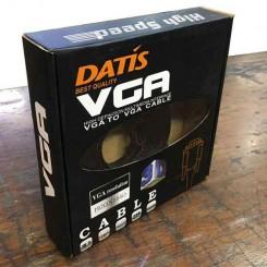 کابل مانیتور فلت و کنفی باکس 3 متری VGA DATIS