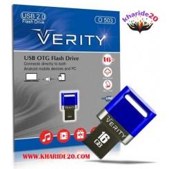 فلش مموری وریتی OTG VERITY16GB O503