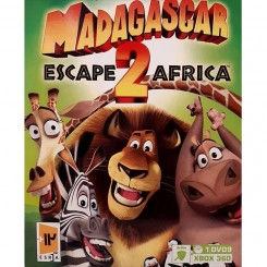 بازی Madagascar Escape Africa 2 مخصوص Xbox 360 نشر گردو